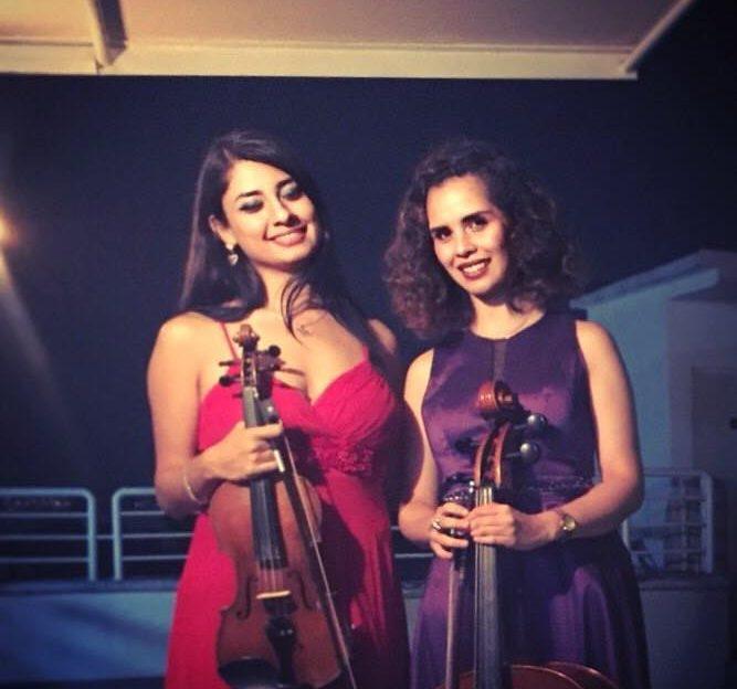 Dueto de violín con violonchelo